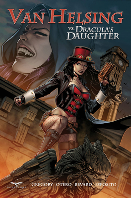 Cover for Van Helsing vs. Dracula's Daughter