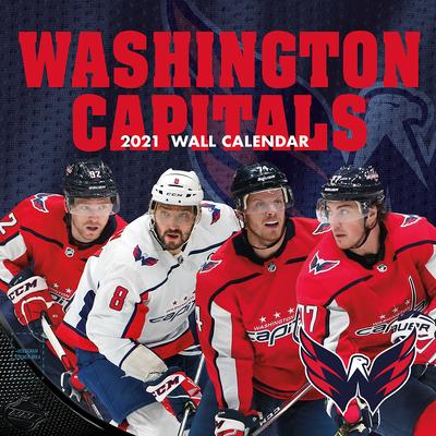 Washington Capitals 2021 12x12 Team Wall Calendar Cover Image