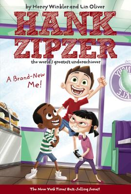 A Brand-New Me! #17 (Hank Zipzer #17) Cover Image