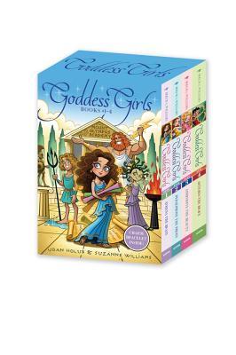 Cover for Goddess Girls Books #1-4 (Charm Bracelet Inside!)