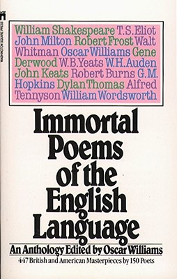 Immortal Poems of the English Language Cover Image