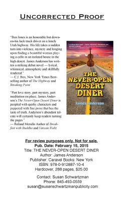 The Never-Open Desert Diner Cover Image