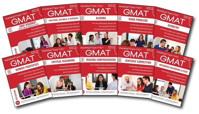 Complete GMAT Strategy Guide  Set (Manhattan Prep GMAT Strategy Guides) Cover Image