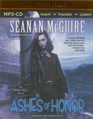 Ashes of Honor (October Daye #6) Cover Image