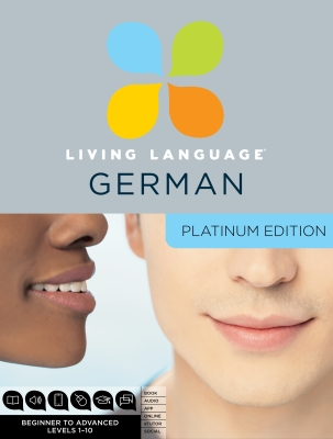 Living Language German, Platinum Edition Cover