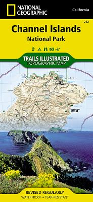 Channel Islands National Park, California, USA (National Geographic Maps: Trails Illustrated #252) Cover Image