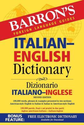 Italian-English Dictionary (Barron's Bilingual Dictionaries) Cover Image