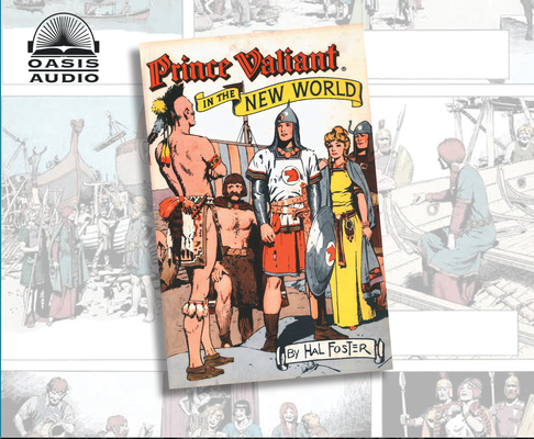 Prince Valiant in the New World (Library Edition) Cover Image