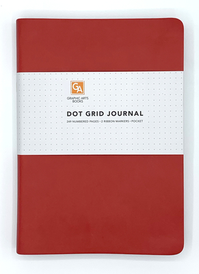 Dot Grid Journal - Ruby Cover Image