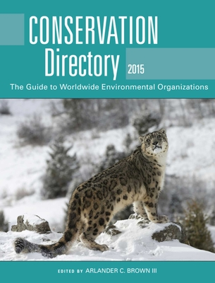 Cover for Conservation Directory 2015
