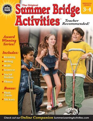 Summer Bridge Activities(r), Grades 3 - 4 Cover Image