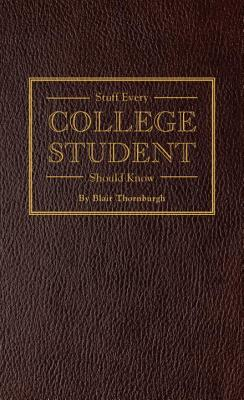 Stuff Every College Student Should Know Cover