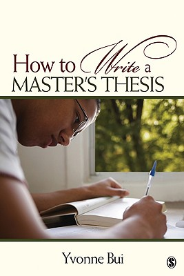 How to Write a Master's Thesis Cover Image