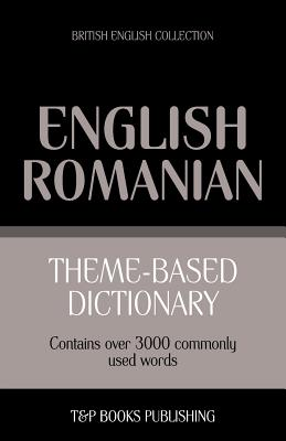 Theme-based dictionary British English-Romanian - 3000 words Cover Image