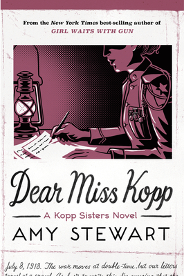 Dear Miss Kopp, Volume 6 (Kopp Sisters Novel #6) Cover Image