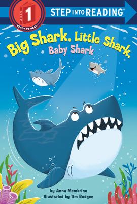 Big Shark, Little Shark, Baby Shark (Step into Reading) Cover Image