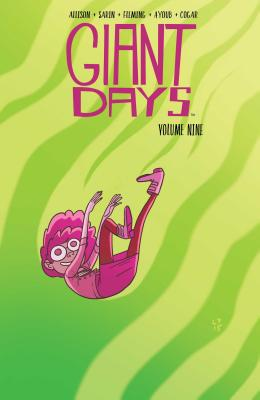 Cover for Giant Days Vol. 9