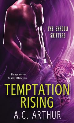 Temptation Rising: A Paranormal Shapeshifter Werejaguar Romance (The Shadow Shifters #2) Cover Image