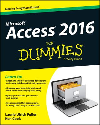 Access 2016 for Dummies Cover Image