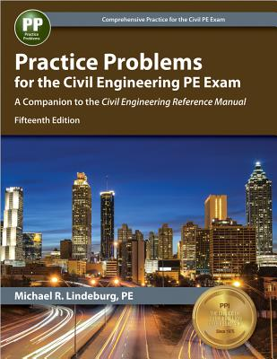 Practice Problems for the Civil Engineering PE Exam Cover Image