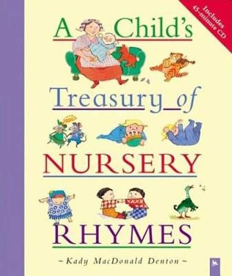 A Child's Treasury of Nursery Rhymes Cover Image