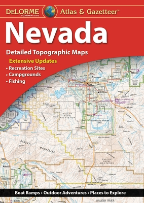 Delorme Atlas & Gazetteer: Nevada Cover Image