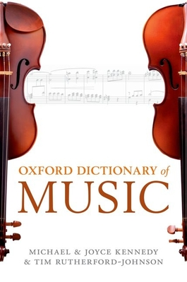 Cover for The Oxford Dictionary of Music