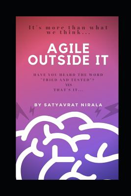 Agile Outside IT: The Untold Management Secret. Cover Image