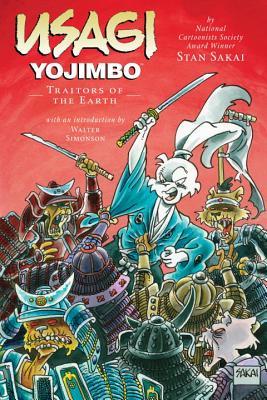 Usagi Yojimbo Volume 26: Traitors of the Earth Cover Image