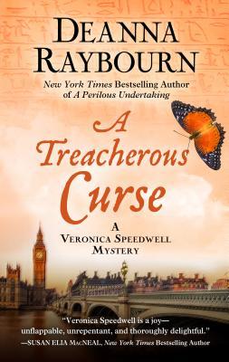 A Treacherous Curse (Veronica Speedwell Mystery) Cover Image
