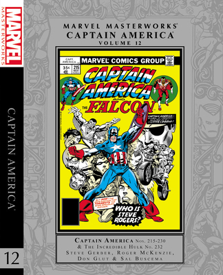Marvel Masterworks: Captain America Vol. 12 Cover Image