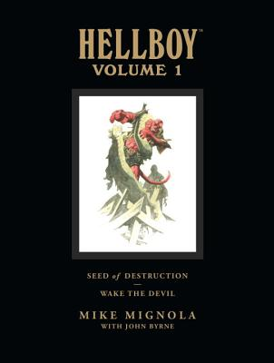 Hellboy Library Volume 1: Seed of Destruction and Wake the Devil Cover Image