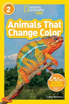 National Geographic Readers: Animals That Change Color (L2) Cover Image