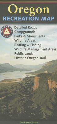 Benchmark: Oregon Recreation Map (Benchmark Maps: Oregon) Cover Image