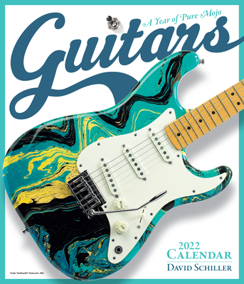 Guitars Wall Calendar 2022 Cover Image