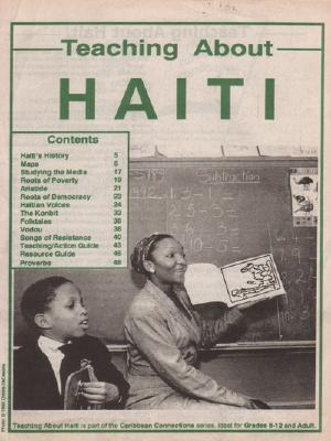 Teaching about Haiti Cover Image