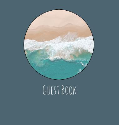 Guest Book, Guests Comments, Visitors Book, Vacation Home Guest Book, Beach House Guest Book, Comments Book, Visitor Book, Nautical Guest Book, Holida Cover Image