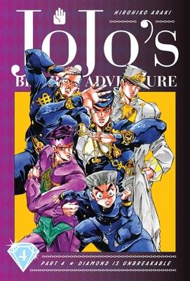 JoJo's Bizarre Adventure: Part 4--Diamond Is Unbreakable, Vol. 4 (JoJo's Bizarre Adventure: Part 4--Diamond Is Unbreakable #4) Cover Image