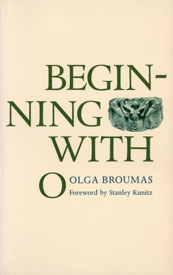Cover for Beginning with O (Yale Series of Younger Poets)