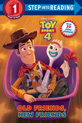 Old Friends, New Friends (Disney/Pixar Toy Story 4) (Step into Reading) Cover Image