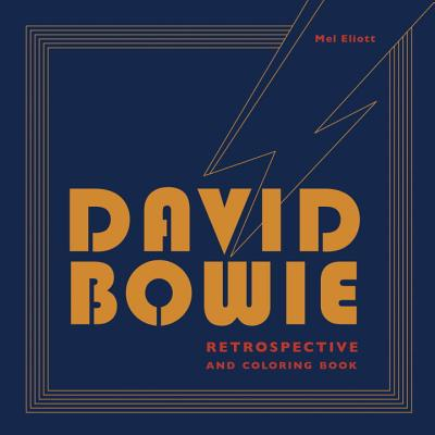 David Bowie Retrospective and Coloring Book Cover Image