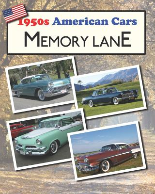 1950s American Cars Memory Lane: Large print picture book for dementia patients Cover Image