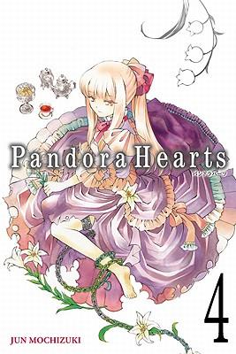 Pandora Hearts, Volume 4 Cover