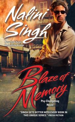 Blaze of Memory (Psy-Changeling Novel, A #7) Cover Image