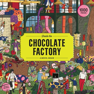 Inside the Chocolate Factory 1000 Piece Puzzle: A Movie Jigsaw Cover Image
