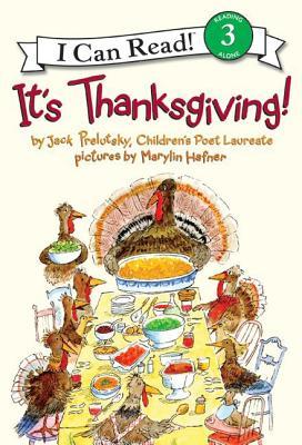 It's Thanksgiving! (Paperback)Jack Prelutsky, Marylin Hafner (Illustrator)