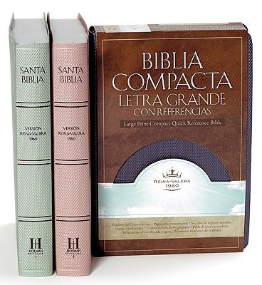 Biblia Compacta Letra Grande Con Referencias-RVR 1960 Cover