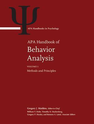 APA Handbook of Behavior Analysis (APA Handbooks in Psychology) Cover Image