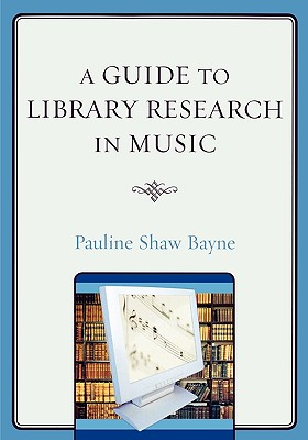 A Guide to Library Research in Music Cover Image