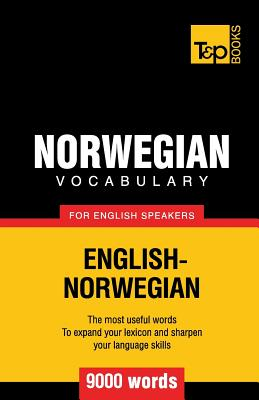 Norwegian vocabulary for English speakers - 9000 words Cover Image